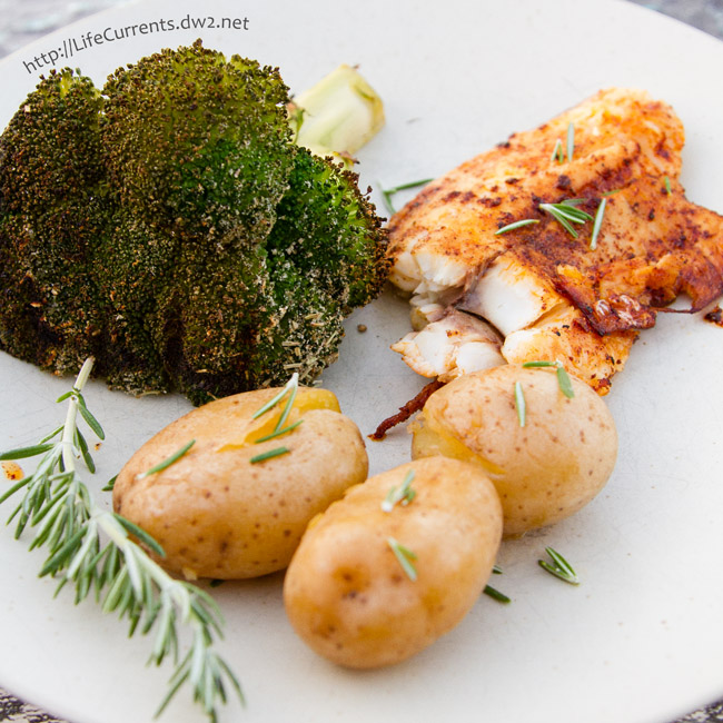Grilled Fish - an easy weeknight dinner