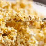 Homemade Caramel Corn is just the right balance of sweet, salty, and fun!