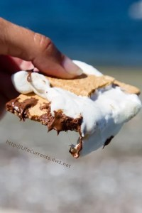 S'mores Bake - on the grill or in the oven - If you haven't had enough of summer, you can still make some awesome S'mores and feel like it's still summer!
