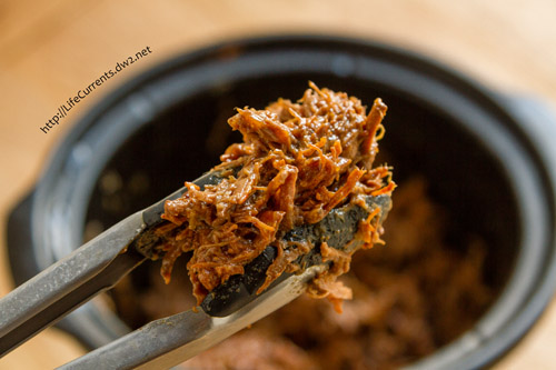 Crock Pot or Slow Cooker Mexican Carne Asada for October is Tailgating Snacks Month