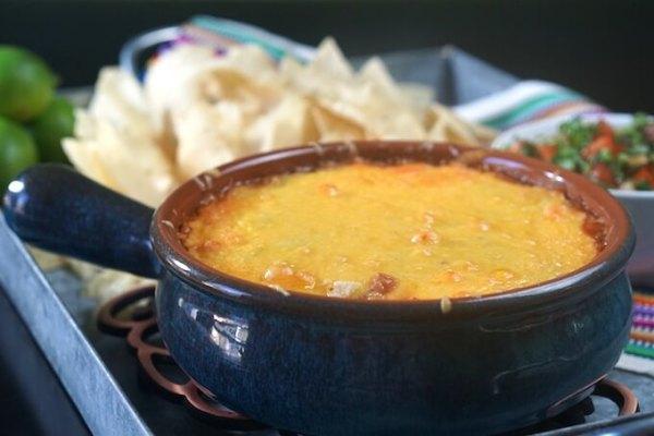 October is Tailgating Snacks Month 2016 - Easy Cheesy Salsa Bean Dip