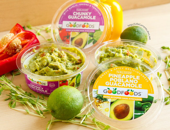 Guacamole Shrimp Appetizer Recipe with GOODFOODS Tableside Chunky Guacamole will help you share the goodness with GOODFOODS this Thanksgiving, and it's super easy to put together this impressive little appetizer.