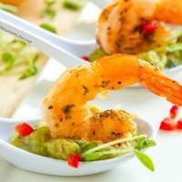 Guacamole Shrimp Appetizer Recipe