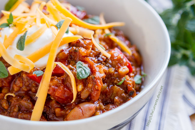 Slow Cooker Mexican Bean and Brown Rice Stew
