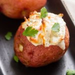 Crab Stuffed Baked Potatoes
