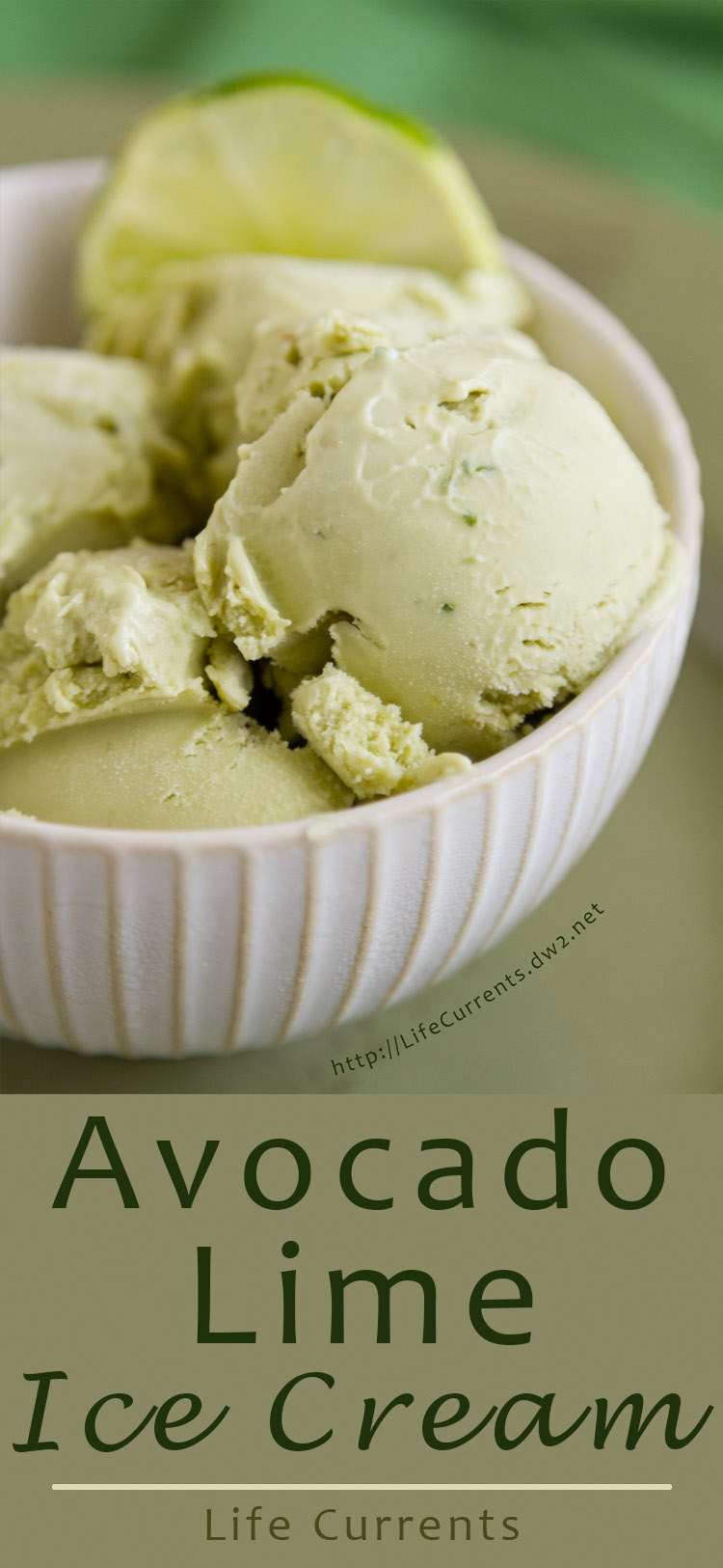 Avocado Lime Ice Cream - Life Currents
