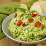 Serve this Mexican Avocado Cotija Dip with chips, pita chips, veggies, or crackers. I also plan on topping tacos with it.