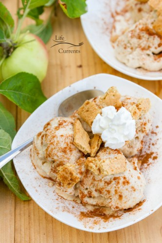 Apple Pie Ice Cream recipe - apple pie and your a la mode all in one