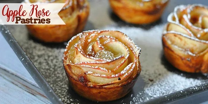 Recipes that use Apple Butter - Apple Rose Pastries