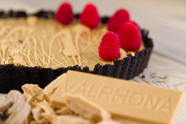 No-Bake Blonde Chocolate Ganache Tart - an impressive Dessert Recipe