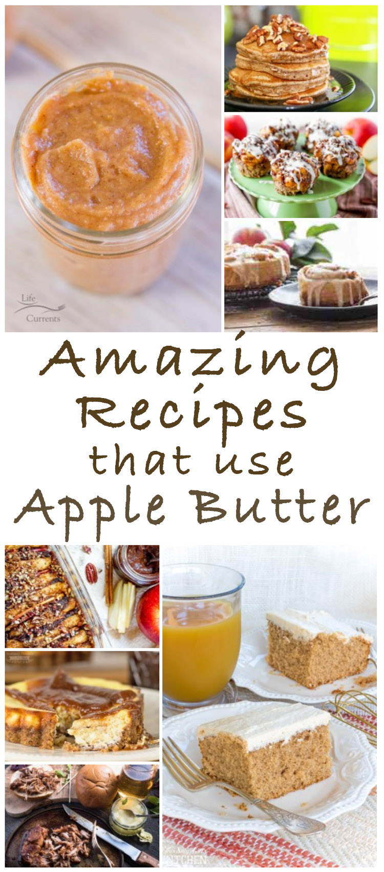 Fabulous Recipes that use Apple Butter - perfect for fall!