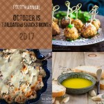 Tailgating Snacks Month 2017 Round Up Collage of the tasty treats