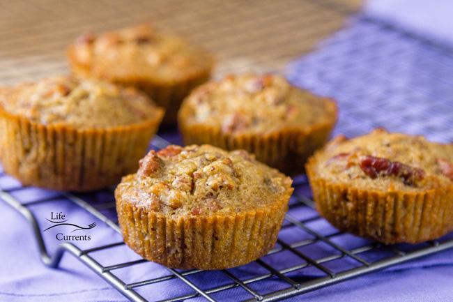 Pecan Pie Muffins - great for breakfast, brunch, or dessert