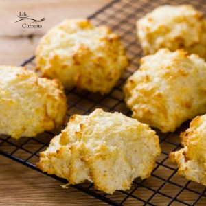 Parmesan Garlic Buttermilk Biscuits from Scratch