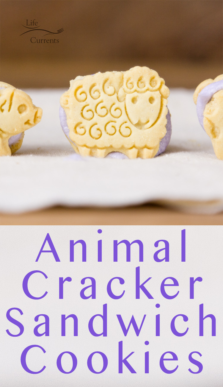 Make these yummy and easy to make Animal Cracker Sandwich Cookies for Easter or anytime you want to make people happy!