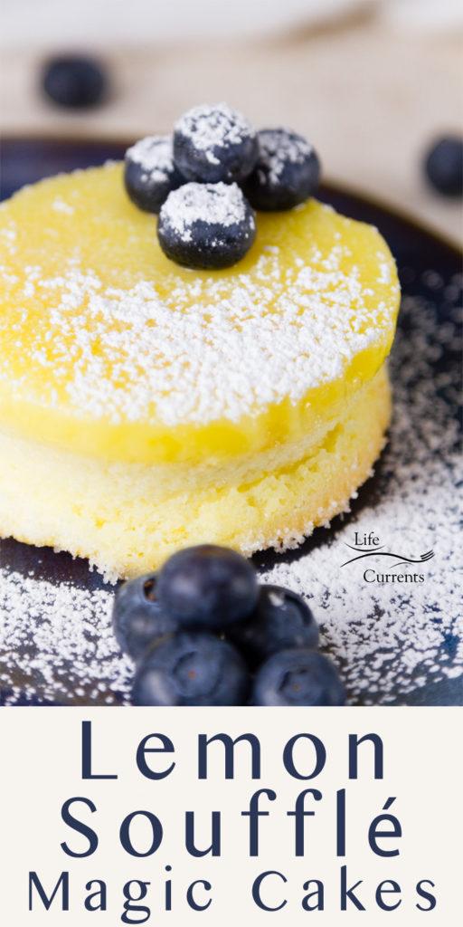Chocolate S'More Pie featured recipe for Lemon Soufflé Magic Cakes