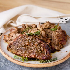 Smokehouse style slow cooker beef This recipe brings those aromas, flavors, and tender cuts of beef to your kitchen in about 4 hours!