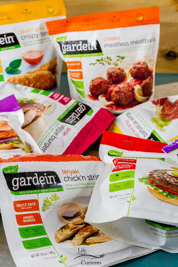 Grilled Teriyaki Chick'n Skewers - Gardein products variety