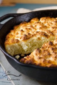 Skillet Buttermilk Butter Biscuits