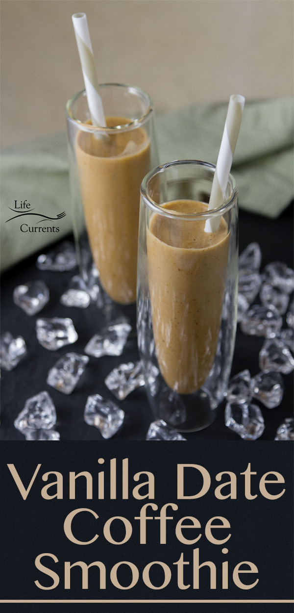 Vanilla Date Coffee Smoothie Recipe healthy & delicious way to start your day