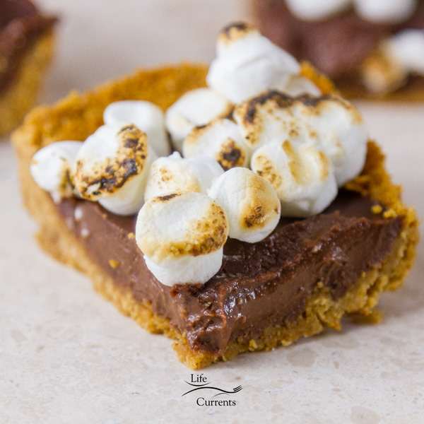 Chocolate S'mores Bars graham crackers, chocolate, and marshmallows never had it so good
