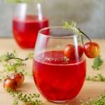 Cherry Scotch Sipper a light refreshing summer drink