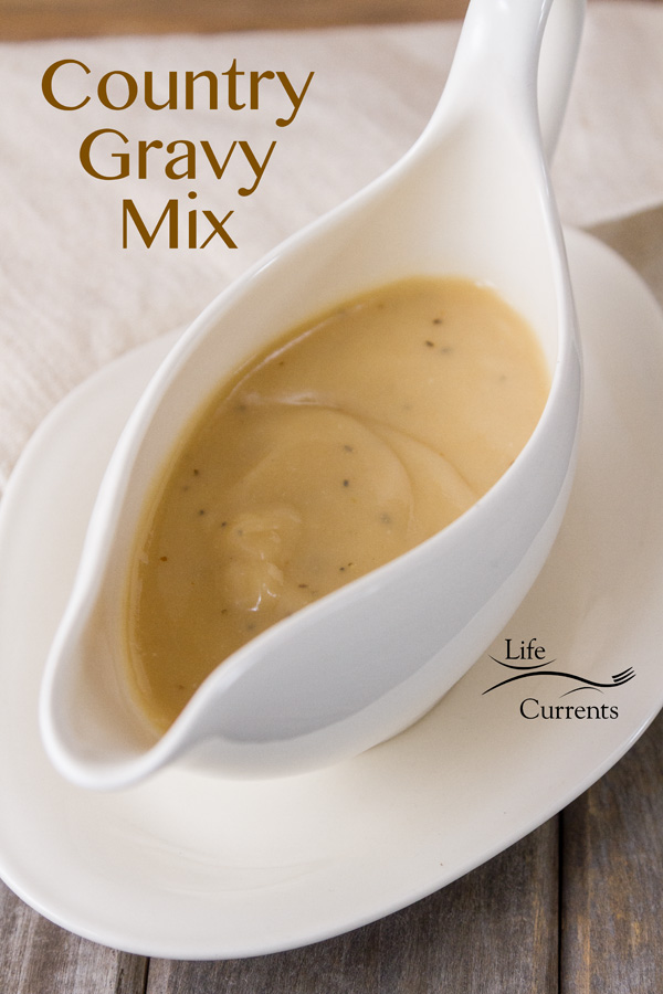 Country Gravy Mix good enough for Thanksgiving dinner too