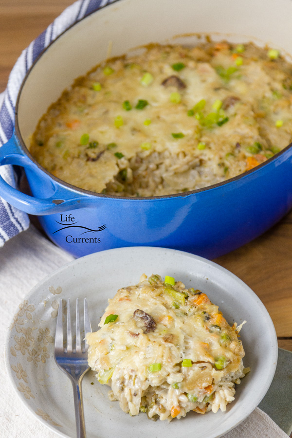 This Vegetable Rice Casserole is also good for the holidays & family gatherings.