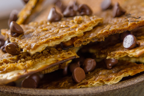 This easy to make addictive Matzo Toffee Candy Bark dessert is also great for gift giving.