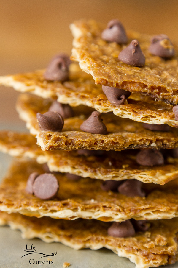Matzo Toffee Candy Bark the perfect easy sweet dessert