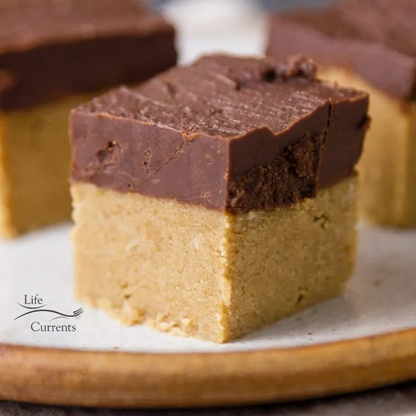 5-ingredient No Bake Peanut Butter Bars take about 10 minutes to make, and are a no bake snack!