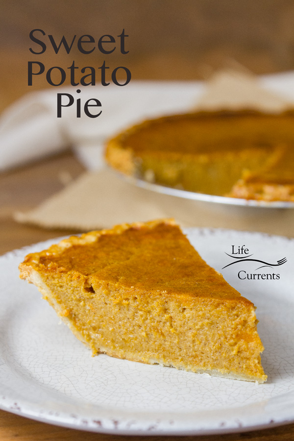 The Sweet Potato Pie is a hearty great pie. If you haven't tried one before, you really must.