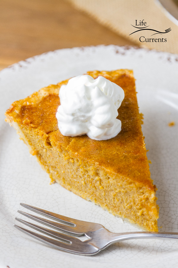 Sweet Potato Pie - I love the flavor of this old-fashioned Southern pie, and it's so easy to make.