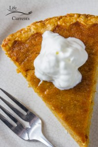 Sweet Potato Pie - I love the flavor of this Southern pie, and it's so easy to make.