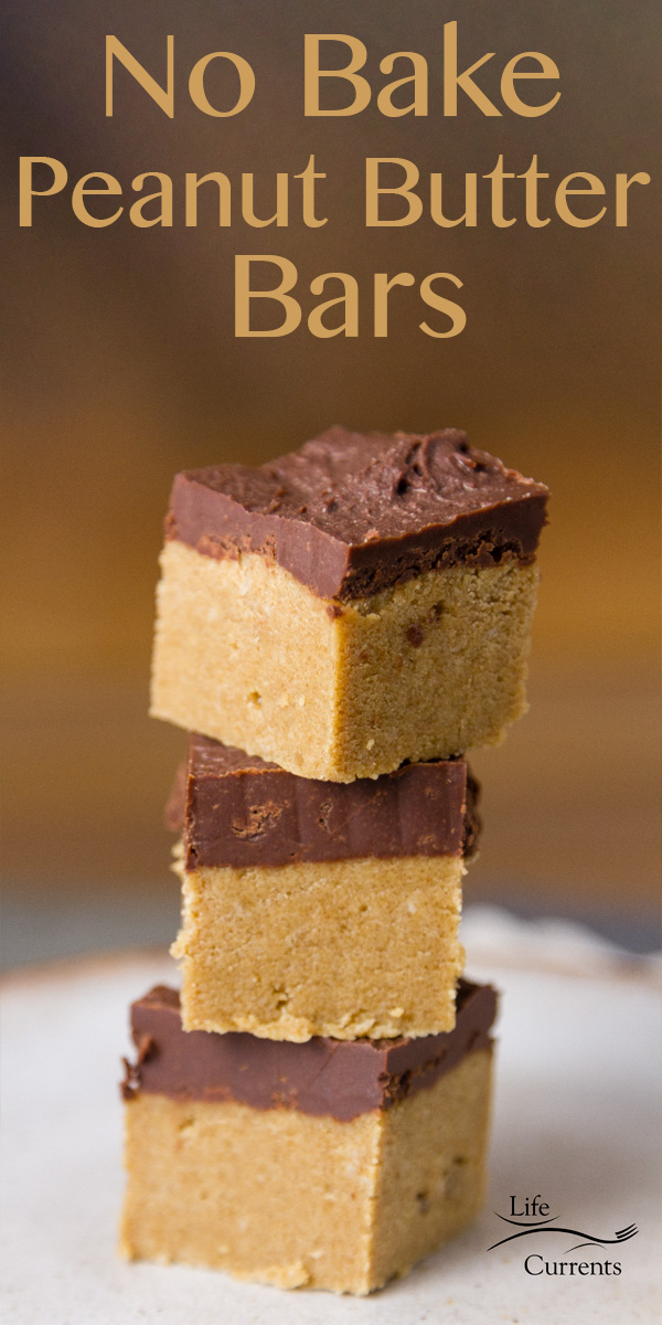 5-ingredient No Bake Peanut Butter Bars are super easy to make and super addicting! They take less than 20 minutes to make, and are a no bake snack!