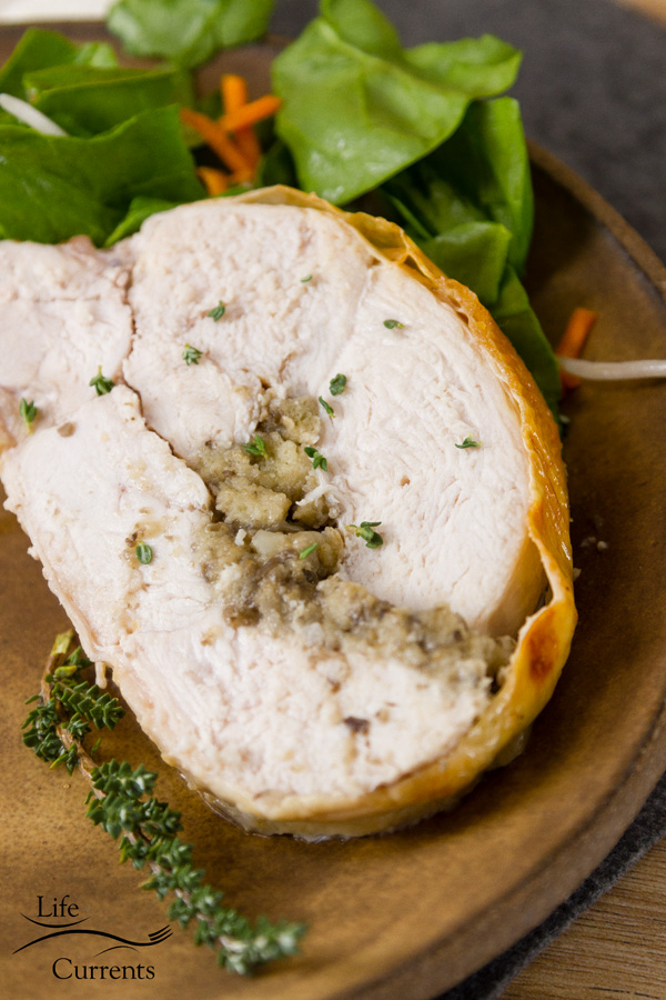 Rolled Stuffed Turkey - an impressive holiday Recipe
