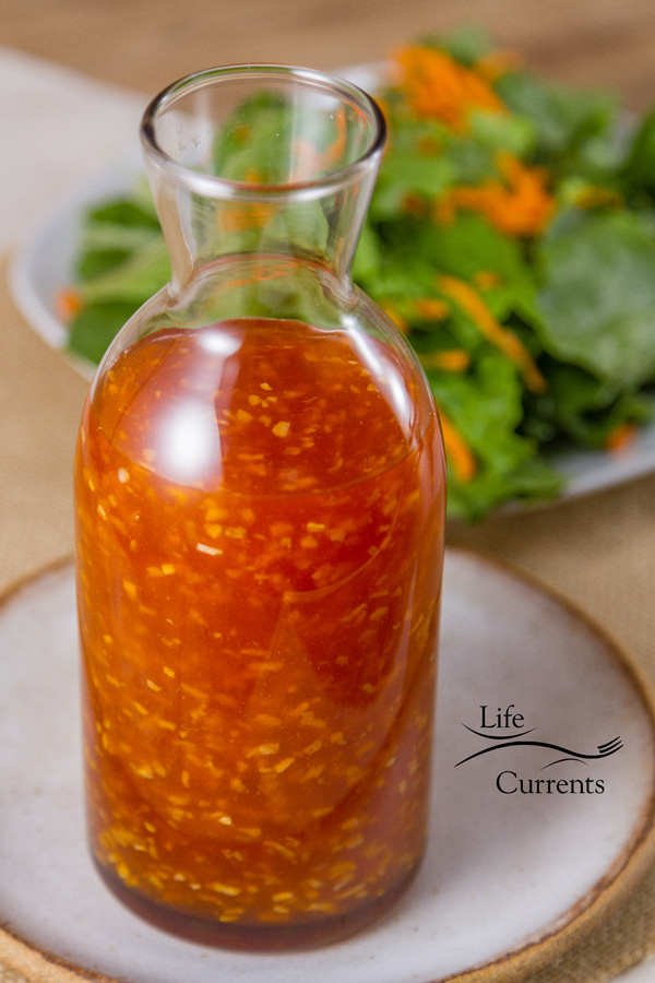Mom's Salad Dressing -- perfect on a salad, not only at holiday time, but any night of the week!