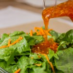 Mom's Salad Dressing is well balanced with sweet and savory.