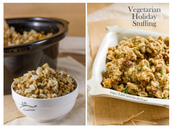 How to Host The Best Vegetarian Thanksgiving Stuffing my favorite part of the meal