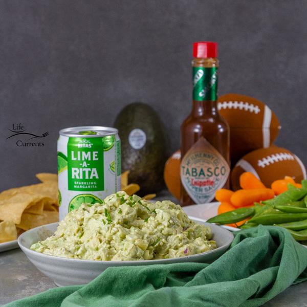 Chipotle Corn Guacamole Recipe - perfect for game day!