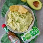 Chipotle Corn Guacamole Recipe - a fun appetizer for game day!