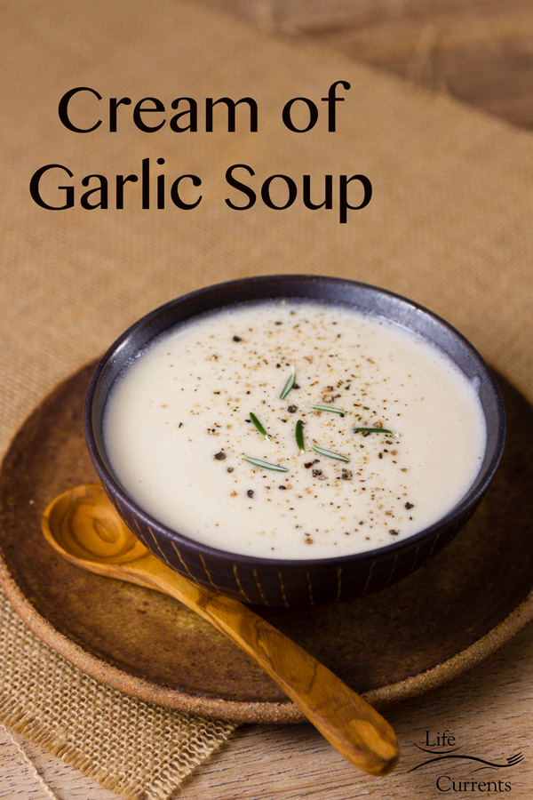 Most Popular Recipes of 2019: the year in review: Cream of Garlic Soup