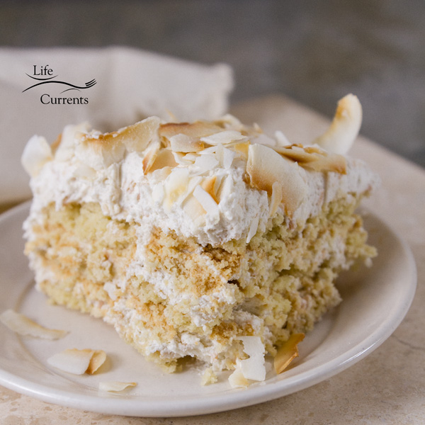 Toasted Coconut Ice Box Cake A no-bake ice box cake that's filled to the brim with delicious coconut – from coconut milk, shredded coconut, coconut cookies, and coconut chips.