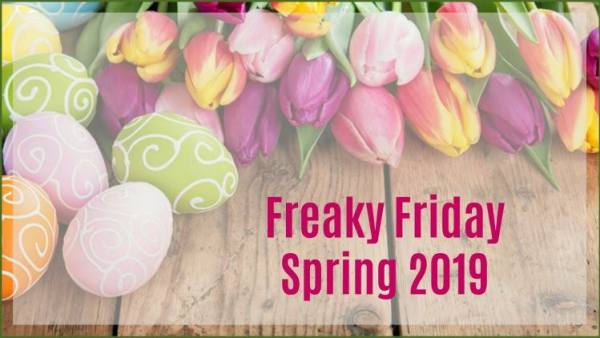 Blackened Shrimp Pasta Freaky Friday Spring 2019 Blog Hop