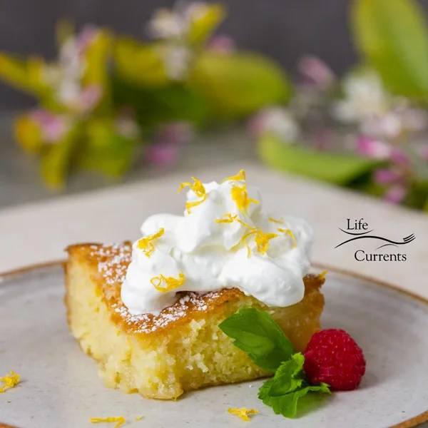 Lemon Poke Cake – perfect for a spring time potluck like Easter or for Mother's Day. Or serve it at summer pool parties.