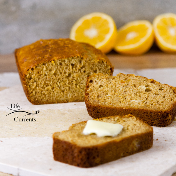 Orange Marmalade Bread with Maple Icing try this bread toasted for your morning breakfast. Toasting it really brings out the rich orange flavor.