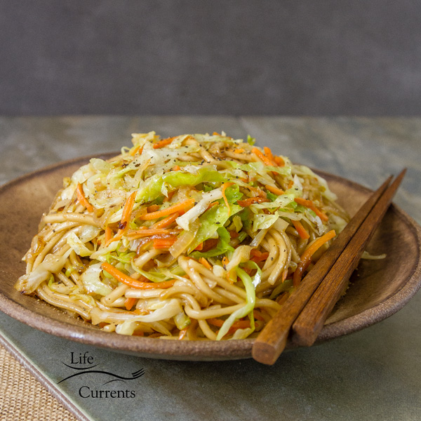 Udon Noodle Salad – hot or cold, this is a great meal, budget friendly, delicious, easy to make, 30 minute meal