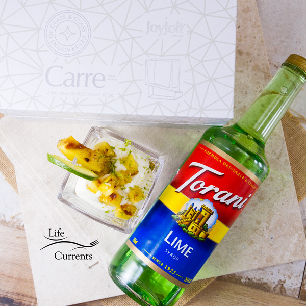 Key Lime and Grilled Pineapple Parfaits Today's #SummerGrilling recipe has been sponsored by Torani and Joy Jolt