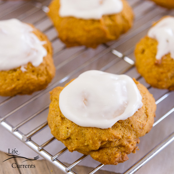 Soft Old-Fashioned Pumpkin Cookies