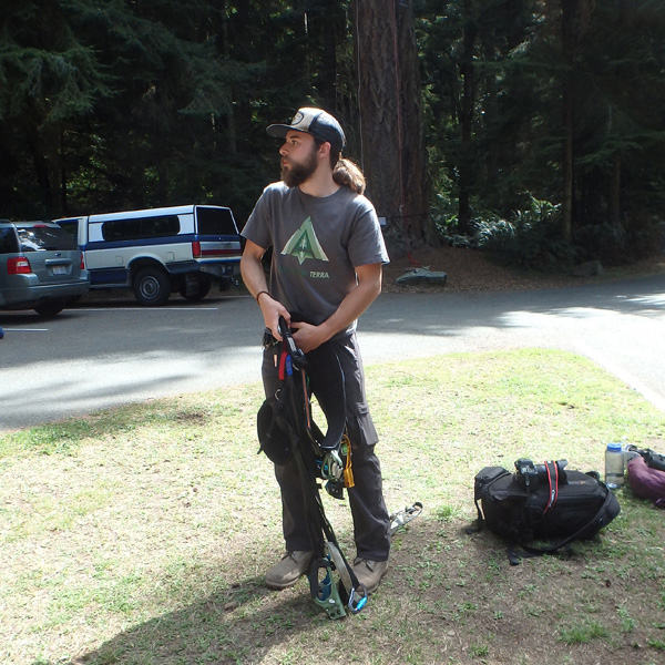 Our guide and trainer, Matt